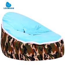 levmoon medium camouflage beanbags bean bag chair kids bed for