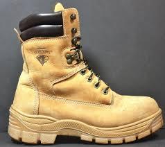 womens boots big w s herman survivors big timber ii steel toe work boots sz 8 w