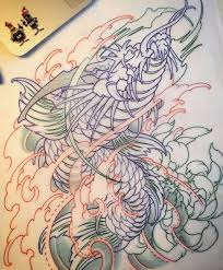 25 unique koi dragon tattoo ideas on pinterest dragon koi fish