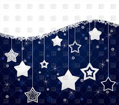 Red White Flag With Blue Star Dark Blue Christmas Background From White Stars Royalty Free