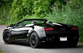 black on black lamborghini gallardo lamborghini gallardo spyder black sport cars