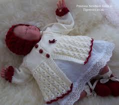 Knitted Chandelier Earrings Pattern Baby Knitting Pattern Baby Girls Or Reborn Dolls Sweater Set