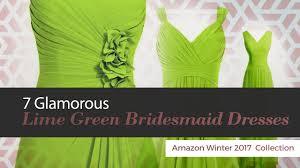 lime green bridesmaid dresses 7 glamorous lime green bridesmaid dresses winter 2017