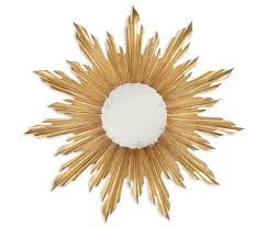 Target Wall Mirrors by Sunburst Mirror Sunburst Mirrors Gold Sunburst Mirror Gold