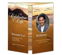 Funeral Program Covers 43 Best Obituary Template Images On Pinterest Funeral Ideas