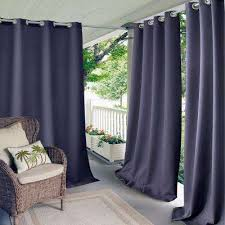 Tan And Blue Curtains Blue Curtains U0026 Drapes Window Treatments The Home Depot