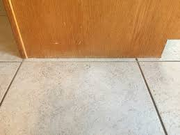 how to trim base cabinets use shoe molding or not in kitchen and family room