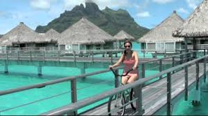 bora bora st regis over the water bungalow youtube