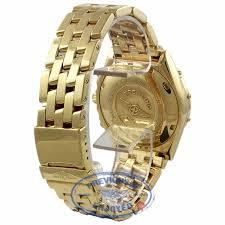 breitling gold bracelet images Breitling windrider chronomat 40mm blue dial gold sub dials pilot jpg