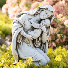 outdoor garden statues u0026 saint figurines the catholic company