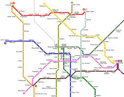 map of mexico cities awesome mexico city metro map travelquaz subway