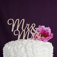 rhinestone monogram cake topper mr and mrs wedding cake topper gold rhinestone