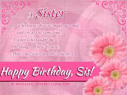 birthday wishes for sister that warm the heart u2013 365greetings com