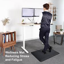 Fatigue Mats For Kitchen Amazon Com Flexispot Standing Desk Mat 20 In X 39 In Non Slip
