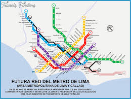 lima map lima metropolitano archives travel map vacations