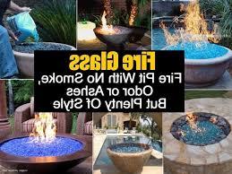 Fire Glass Fire Pit by Diy Glass Fire Pit Fire Pit Ideas