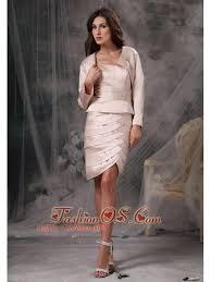 customize light pink mother of the bride dress column sheath