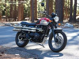 triumph motocross bike 2015 triumph scrambler comparison photos motorcycle usa