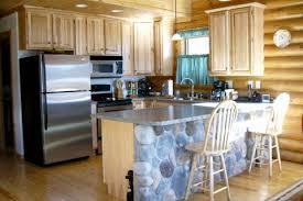 Log Home Kitchen Cabinets - golden eagle log and timber homes design ideas log home kitchens