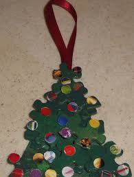 how to create a fun and easy christmas tree ornament from recycled