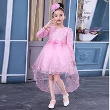 dress anak 2017 tahun baru anak gaun pesta anak anak gadis mermaid lace