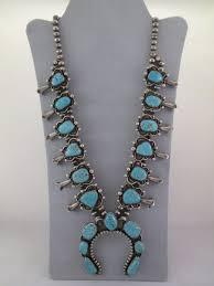 necklace vintage images Vintage 8 turquoise squash blossom necklace antique squash jpg