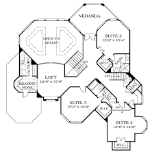 traditional style house plan 5 beds 5 50 baths 7017 sq ft plan