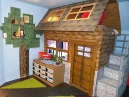 chambre minecraft chambre avec décoration inspirée du jeu vidéo minecraft