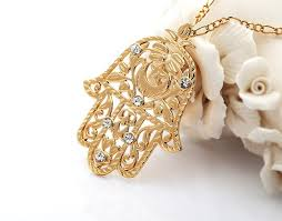 aliexpress buy fashion big size 18k gold plated men size fashion hamsa pendant for women or men 18k gold plated