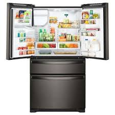 black friday deals refrigerator free delivery home depot whirlpool refrigerators appliances the home depot