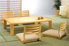 dining tables floor couch japanese dining room design low couch