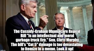 Graham Meme - the graham cassidy obamacare repeal bill imgflip