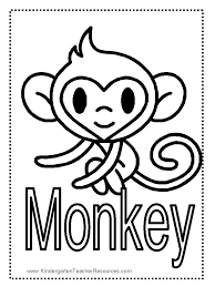 printable coloring pages monkeys classy ideas monkey printable coloring pages cute baby owl pictures