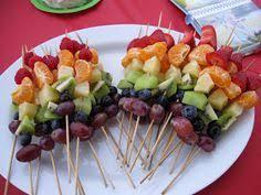 rainbow fruit skewers for hazel eli u0027s first birthday party the