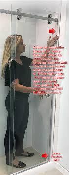 Standard Shower Door Sizes Standard Size Frameless Shower Door Warning The Original