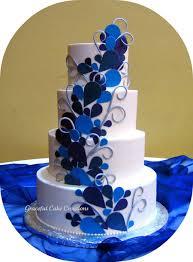 Peacock Themed Wedding Peacock Themed Wedding Cake Cakecentral Com