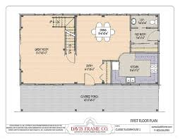 Post And Beam Floor Plans Barn House Plans Classic Sugar House 1 Post And Beam Plans