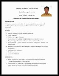 Resume Format For Call Center Job For Fresher Resume Format Sample For Call Center Agent Without Experience