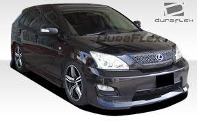 lexus rx330 accessories duraflex rx330 rx350 rx400 platinum front bumper kit 1 for rx
