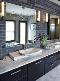Tile Bathroom Countertop Ideas Colors Grey Subway Tiles Nice For Feature Wall In Shower Future Home