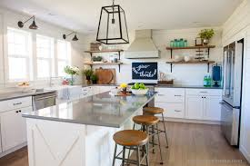 our farmhouse kitchen reveal the harper house