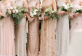 wedding and bridal dresses 35 ideas for mix and match bridesmaid dresses