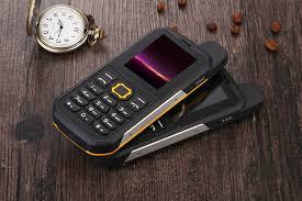 Rugged Outdoor Rugged Outdoor Phone 3000mah Power Bank Mode Dual Imei Ip67
