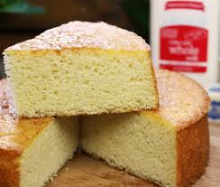 this yellow sponge cake recipe is soooo moist and springy perfect