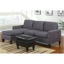 Microfiber Contemporary Sofa Grey Sectional Couch With Chaise Microfiber Sofa Contemporary