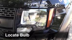 ford f150 headlight bulb headlight change 2009 2014 ford f 150 2010 ford f 150 svt raptor