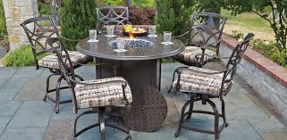 Woodard Outdoor Furniture by Fire Tables Residential Woodard Furniture