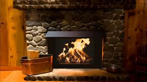 fireplace sound in a cabin sounds of fire u0026 howling wind