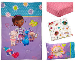Doc Mcstuffins Toddler Bed Set Disney Doc Mcstuffins Toddler Bed And Bedding Value Bundle