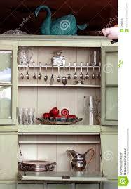 antique kitchen cupboard stock photo image 12989310